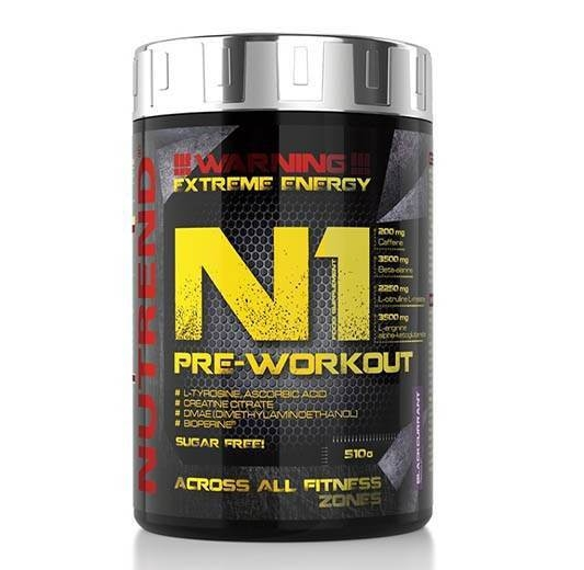 Nutrend N1 Pre-Workout 510 g 0