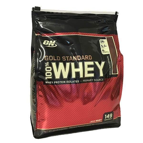 Optimum Nutrition 100% Whey Gold Standard 10 Lbs 4.5 kg 0