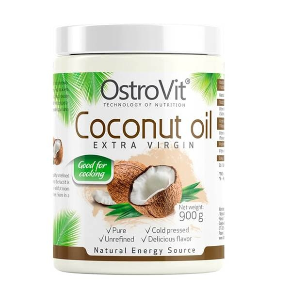 Ostrovit 100% Pure Coconut Oil 900 grame 0