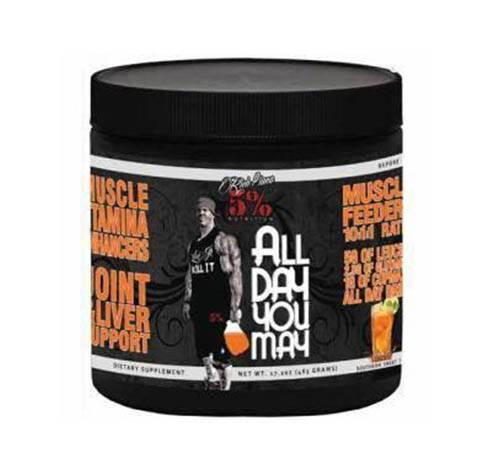 Rich Piana 5% Nutrition All Day You May 0