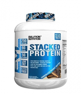 EVLution Nutrition Stacked Protein 4 Lbs 1.82 kg0