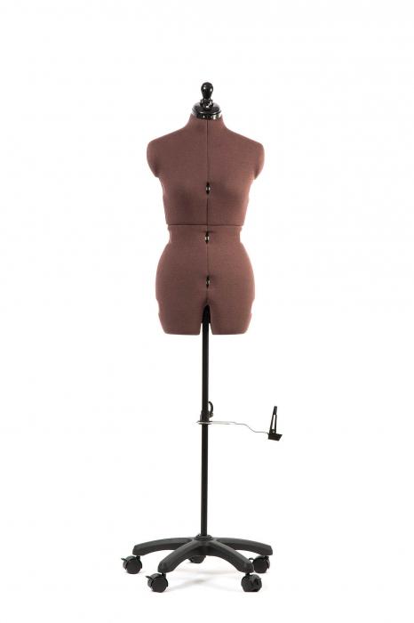 Manechin Croitorie Reglabil Femei 8 Parti Olivia cu Prelungire Pantalon S (32-42) 7