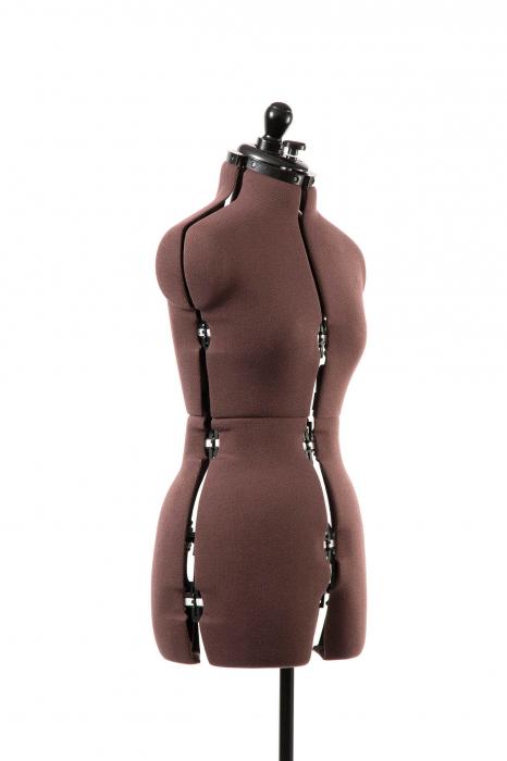 Manechin Croitorie Reglabil Femei 8 Parti Olivia cu Prelungire Pantalon S (32-42) 1