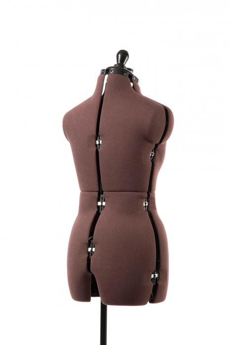 Manechin Croitorie Reglabil Femei 8 Parti Olivia cu Prelungire Pantalon S (32-42) 2