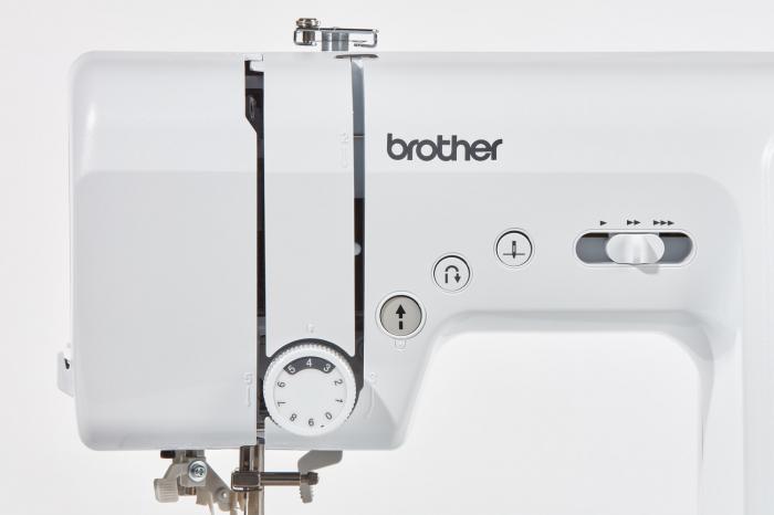 Brother FS60X, masina cusut computerizata, 60 cusaturi, 7 butoniere automate, comenzi electronice 3