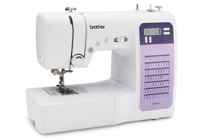 Brother FS70WTX, masina cusut computerizata, 70 cusaturi, masa extensie inclusa, comenzi electronice [0]