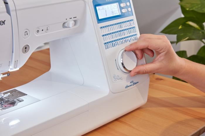 Brother Innov-is A60SE Special Edition, masina de cusut computerizata, 60 cusaturi, 6 butoniere automate, ecran LCD 3