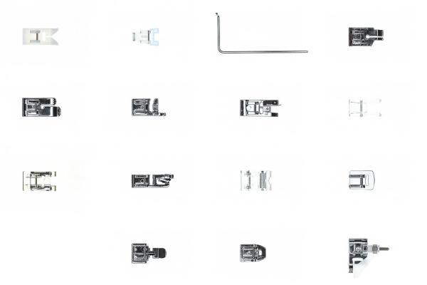 Set Universal de 15 picioruse 1