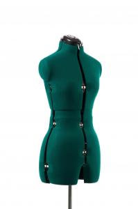 Manechin Croitorie Reglabil Femei 8 Parti cu Prelungire Pantalon S (32-42)1