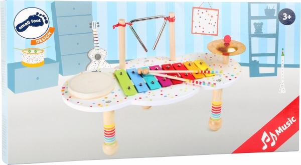 Masuta muzicala Bulinele colorate 1