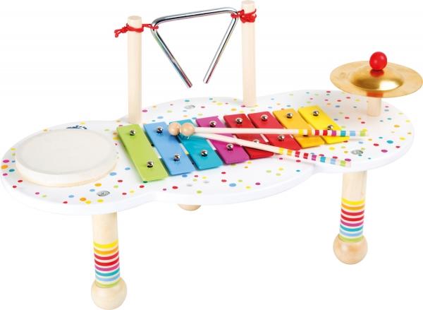 Masuta muzicala Bulinele colorate 2