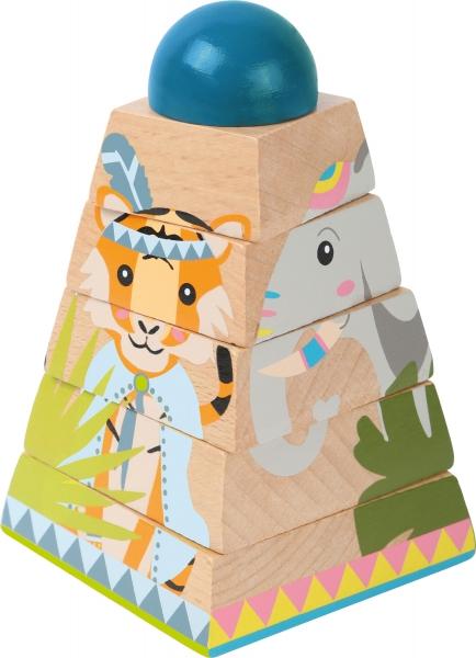 Puzzle Piramida Turnul Junglei 2