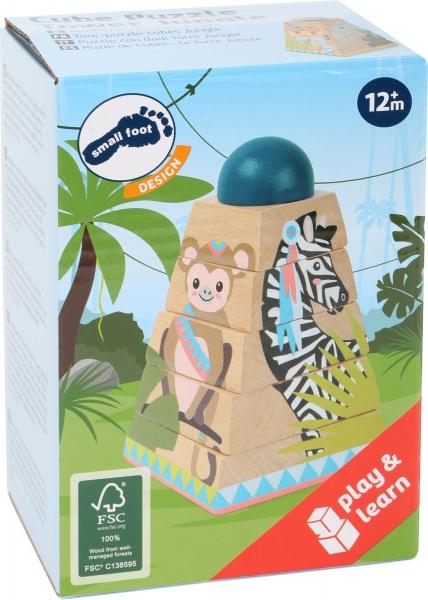 Puzzle Piramida Turnul Junglei 4
