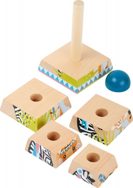 Puzzle Piramida Turnul Junglei 1