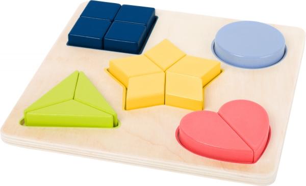 Puzzle educativ Potriveste Formele 1