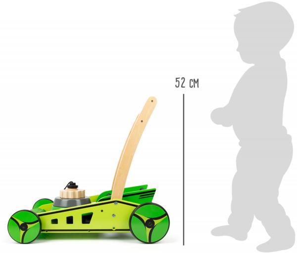 Antemergator cu piramida din lemn Masina de Tuns Iarba 9