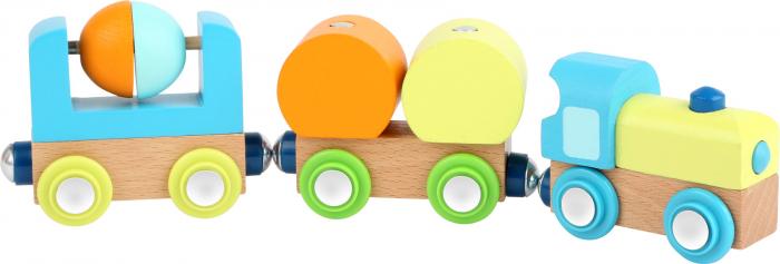 Trenuletul din lemn cu magneti [0]