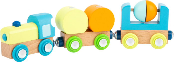 Trenuletul din lemn cu magneti [1]