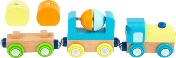 Trenuletul din lemn cu magneti [3]