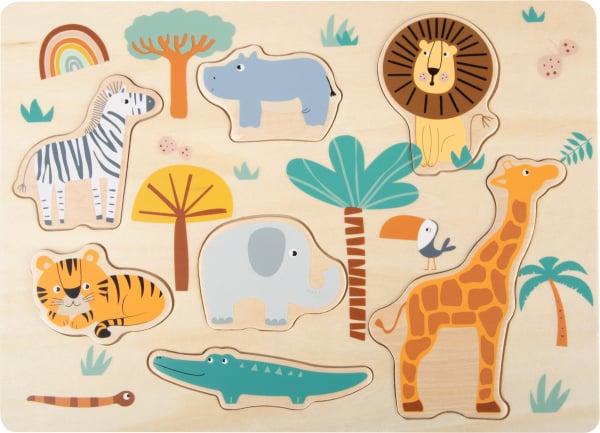 Puzzle lemn Safari 0