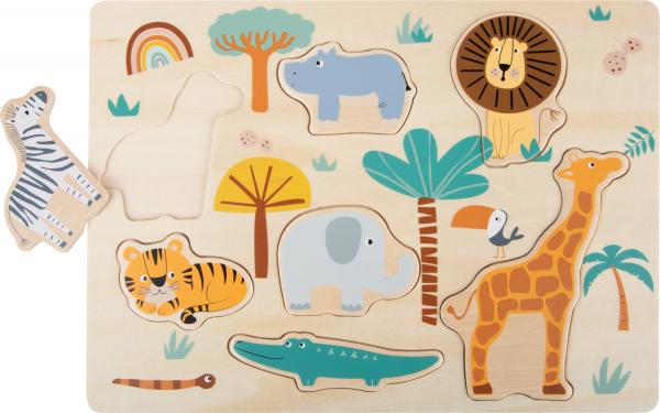Puzzle lemn Safari 1