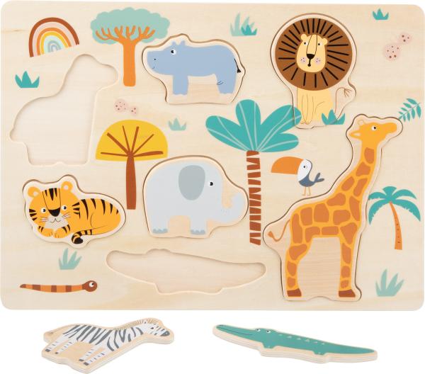 Puzzle lemn Safari 2