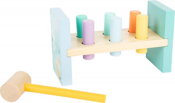 Bancuta de lovit in culori pastelate 0