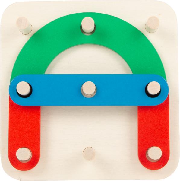 Sa construim cifrele si literele, joc educativ din lemn 1
