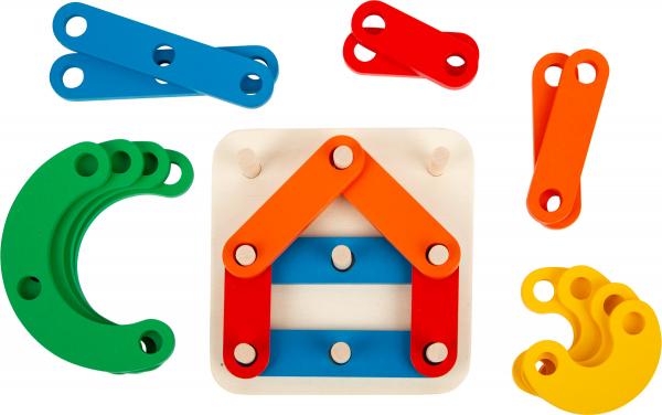 Sa construim cifrele si literele, joc educativ din lemn 4