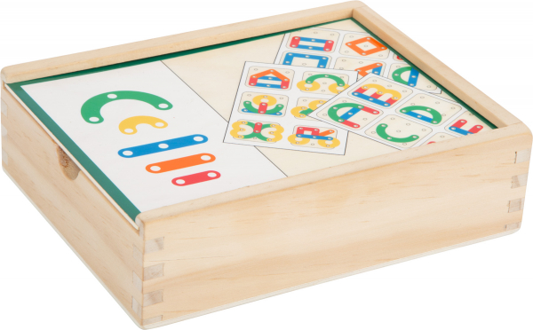 Sa invatam cifrele si literele, joc educativ din lemn 7