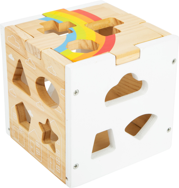 Cub sortator din lemn Curcubeu 2