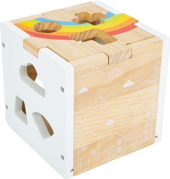 Cub sortator din lemn Curcubeu 3