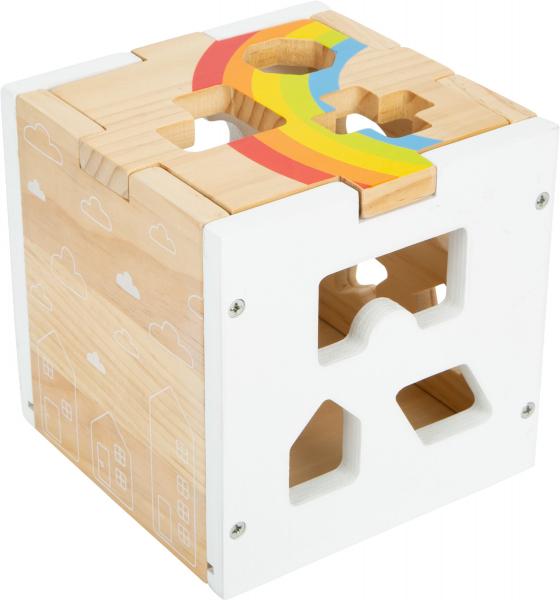 Cub sortator din lemn Curcubeu 4