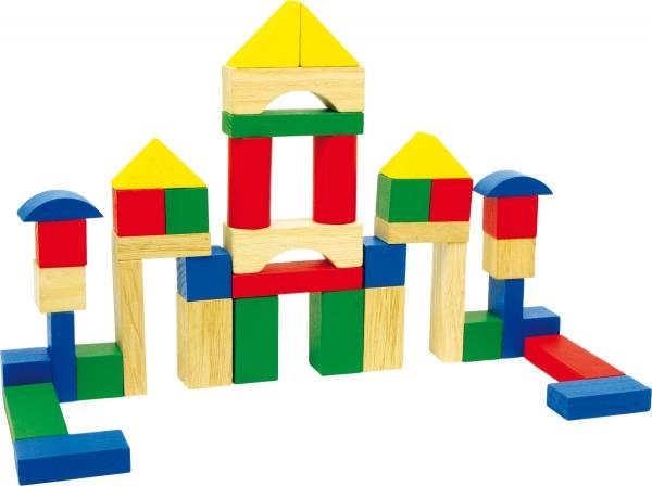 40 cuburi de construit din lemn in galetusa 0