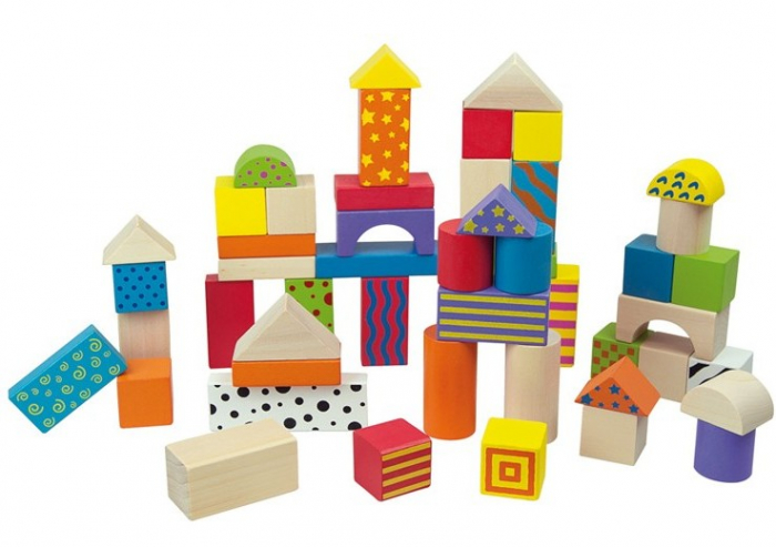 50 cuburi colorate din lemn in galetusa [2]