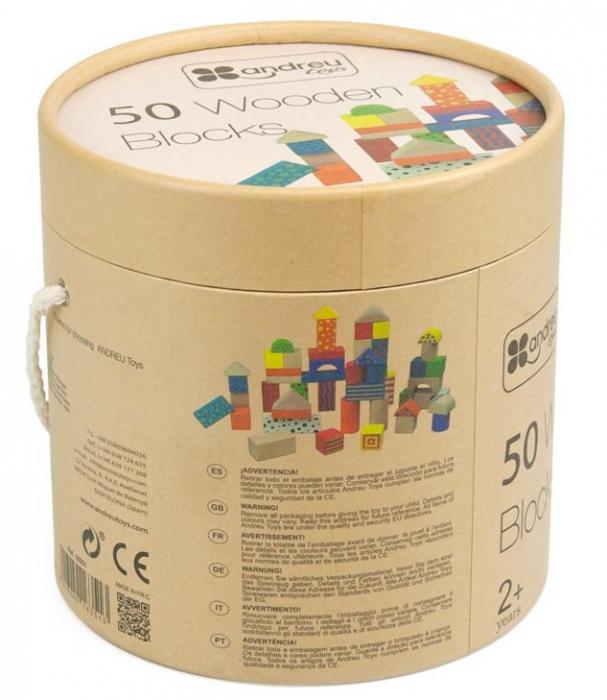 50 cuburi colorate din lemn in galetusa [3]
