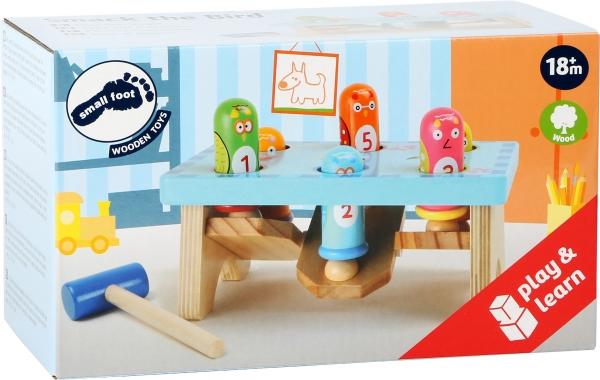 Joc Montessori ciocanel Prinde pasarea 3
