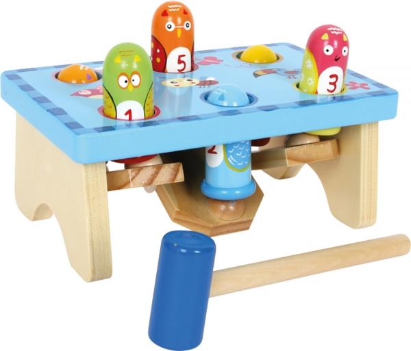 Joc Montessori ciocanel Prinde pasarea 0