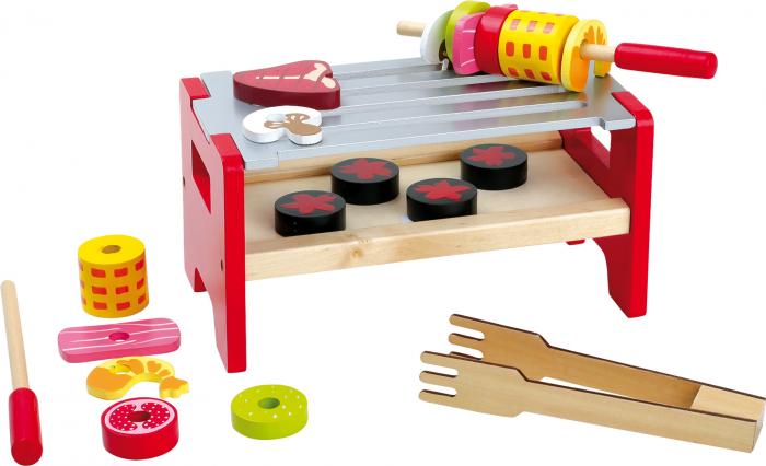 Poftiti la gratar, joc de rol din lemn [0]