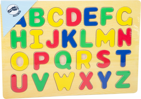 Puzzle lemn Invata literele 2