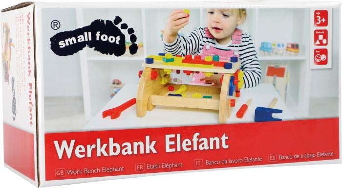 Banc de lucru design Elefant 2