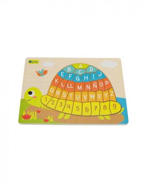 Puzzle testoasa alfabet 1