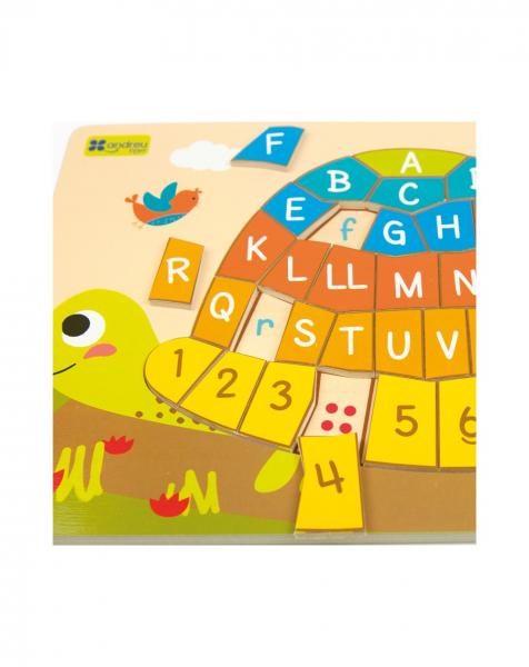 Puzzle testoasa alfabet 2