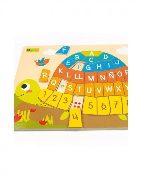 Puzzle testoasa alfabet 3
