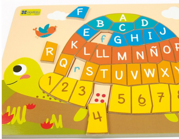 Puzzle testoasa alfabet 4