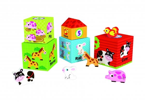 Cuburi Ferma si animale 2