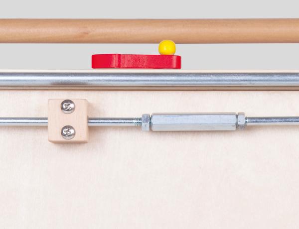 Antemergator din lemn cu activitati educative Sa Pornim [4]