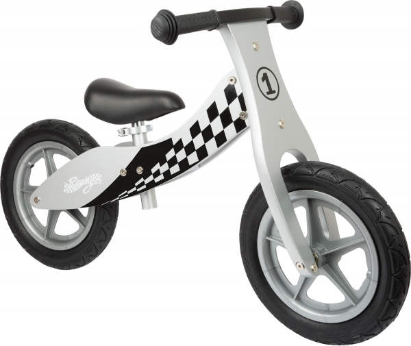 Bicicleta fara roti din lemn Racing 0