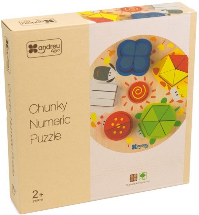 Forme, Fractii si Culori, puzzle educativ [2]