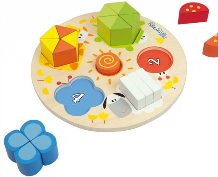 Forme, Fractii si Culori, puzzle educativ [3]